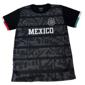 Other - Men's Mexico Home Black Soccer Jersey  SMALL 2019